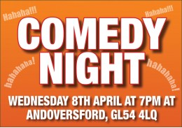 Comedy Night - April 2020