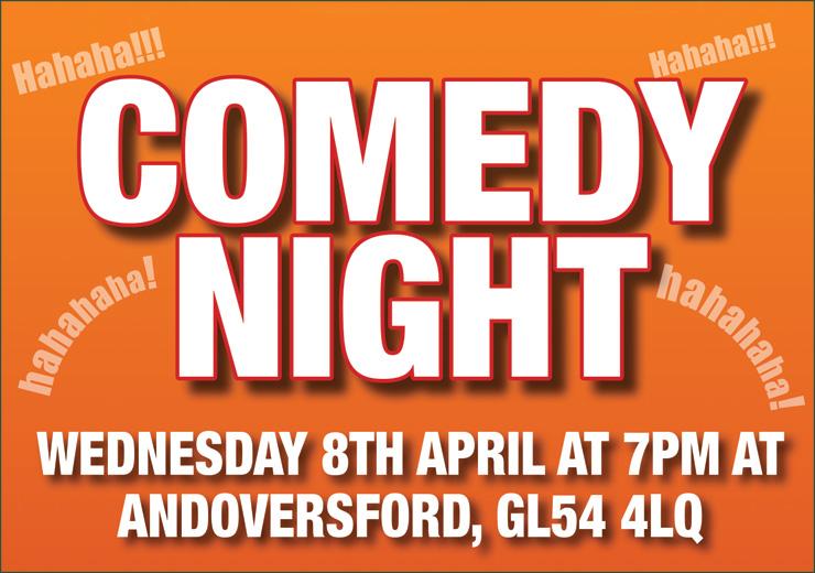 Comedy Night - April 2020